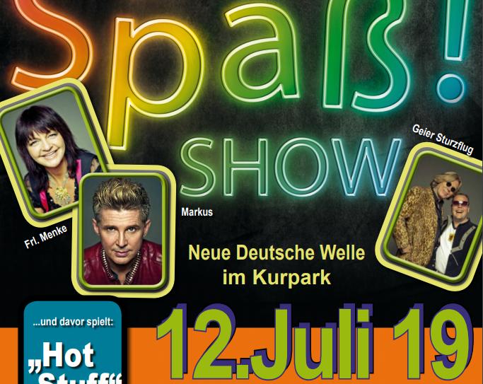 Neue-Deutsche-Welle-Party Nümbrecht