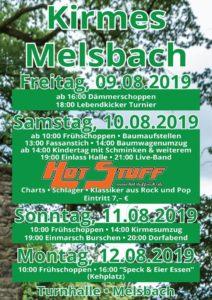 Kirmes in Melsbach 2019 @ Sporthalle Melsbach | Melsbach | Rheinland-Pfalz | Deutschland