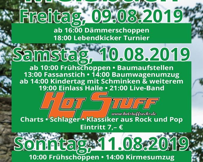 Kirmes in Melsbach 2019