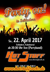 Party on! in Schladern